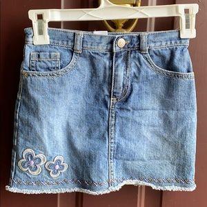 Gymboree size 7 denim skirt